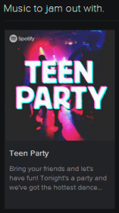 teen party